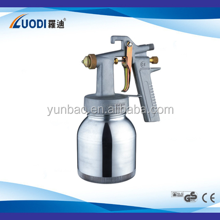2015 wenling air tools chrome paint hvlp paint double nozzle spray gun