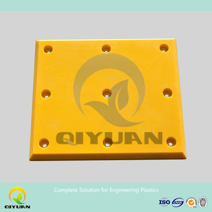 self lubrication UHMWPE /HDPE edge dock fender facial pad
