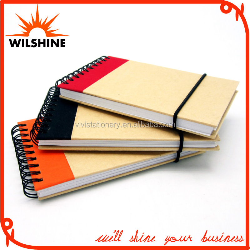 Popular Design Waterproof Notebook with Elastic Band