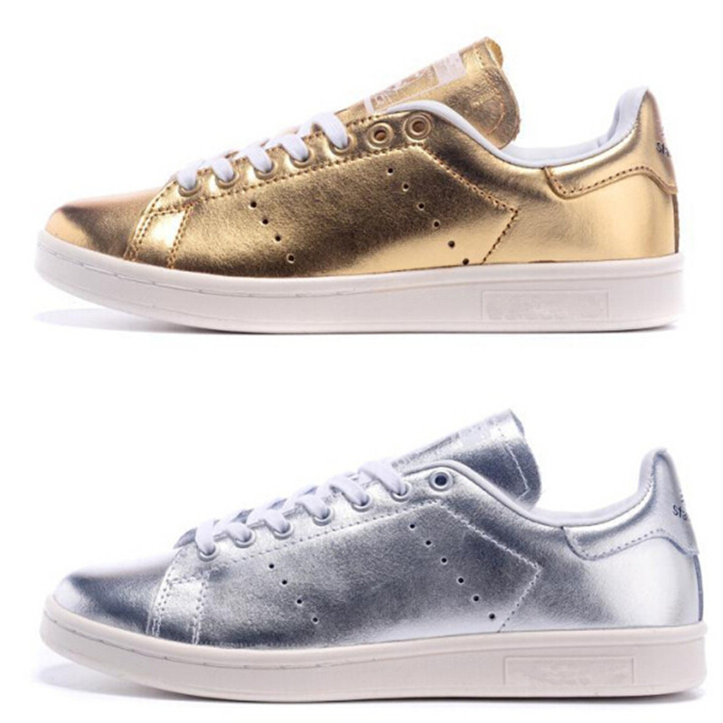 Get Quotations · Most popular in france and Spain stan shoes for women men gold  smith sneaker fashion smith ef3b69e01