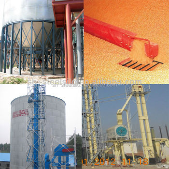 Galvanized Groundnut Seed Storage Steel Silo For Sale