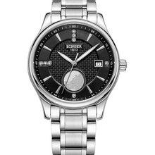 Швейцарские часы, мужские роскошные брендовые наручные часы бингера, автоматические часы с самоходным циферблатом, светящиеся полностью и...(Китай)