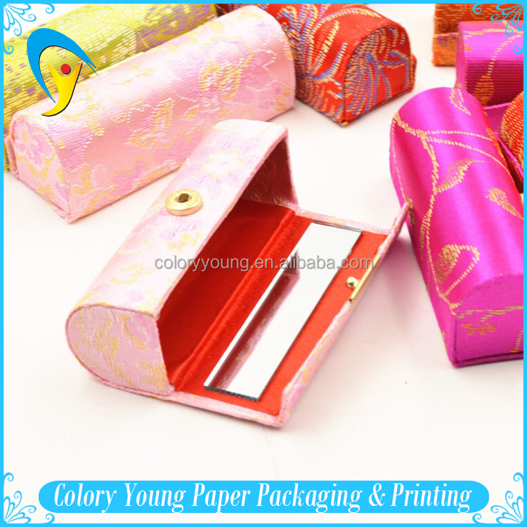 Manufacturer Cylinder Packaging Fabric Rolling Tube For Lip Balm