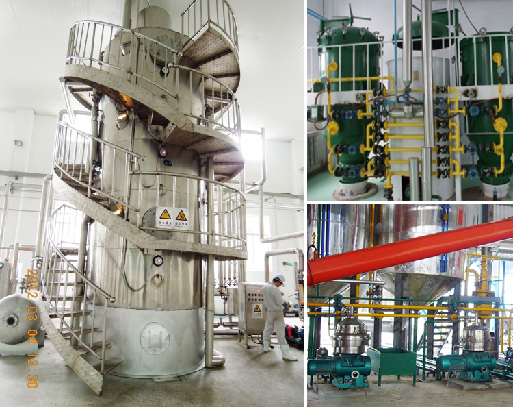 soybean/sunflower oil extraction plant and crude soybean oil refinery equipment price