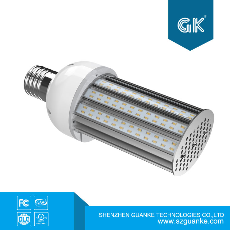 E39 Mogul Base 5600lm 40W Led Corn Bulb 5600lm Replacement for Metal Halide Bulb HID CFL In Horizintal Installation shoe box