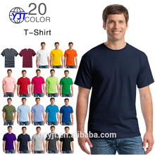 Men cutton logo design t shirt printing custom wholesale