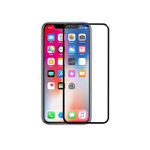For iPhone X 9H 3D curved tempered Glass Screen Protector , Mobile Tempered Glass