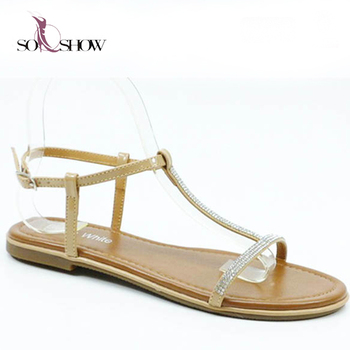 1221d9f2b 2018 newest flat sandal shoes with cheap price