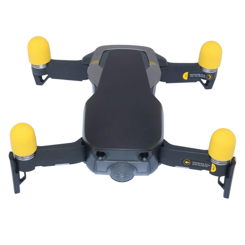 Rantow Mavic Air Motor Protector Cover 4 Pieces Durable Motor Cap Motor Guard Set for DJI Mavic Air Drone