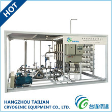 Cryogenic Gas Cylinder Filling Equipment Skid-mounted System for LNG