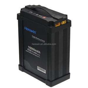 wholesale rechargeable 16000mah 12s 44.4v bms 20C discharge UAV lipo battery packs