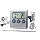 Perfect Cook Digital Oven Thermometer with Cooking Timer and removable Probe for Meat