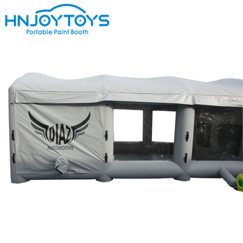 Hot sale Waterproof pvc tarpaulin cheap inflatable spray paint booth cheaper