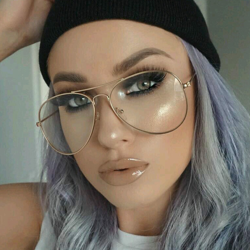 3c88151025a Detail Feedback Questions about Gold Clear Glasses Myopia Clear ...