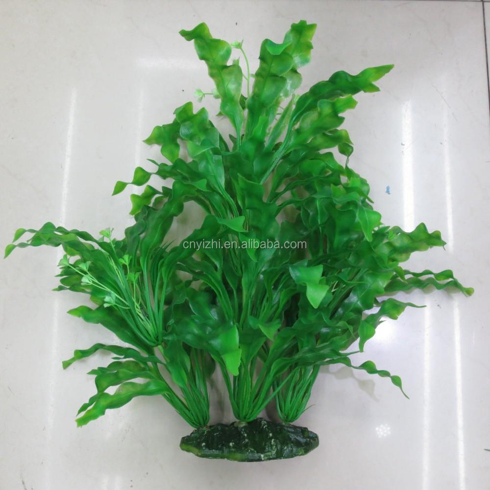 Plantas plantas de acuario artificiales de pl stico mini for Plantas decorativas de plastico
