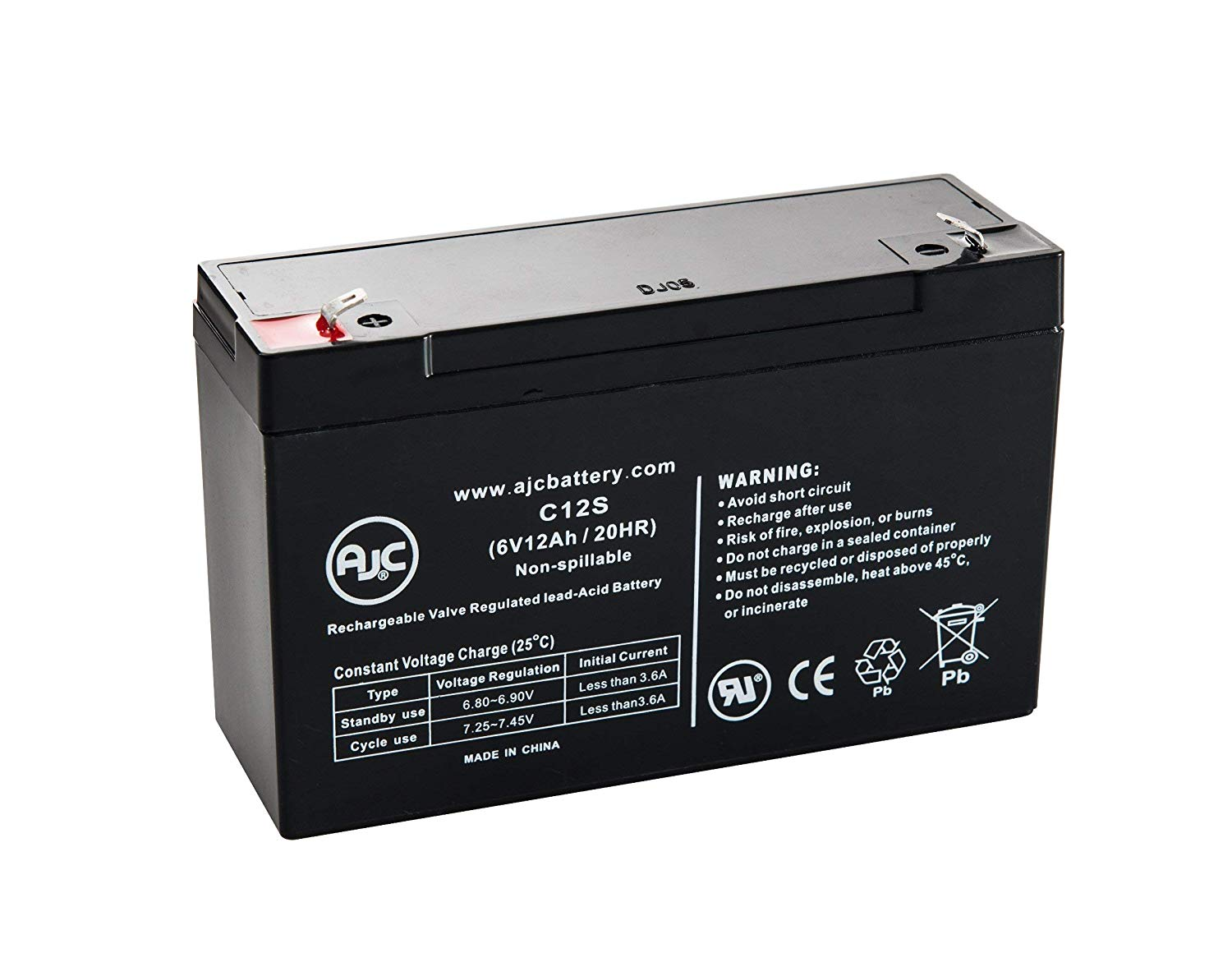 RT 670 UPS SPS Brand 6V 7Ah Replacement Battery for Ritar RT670 6 Pack
