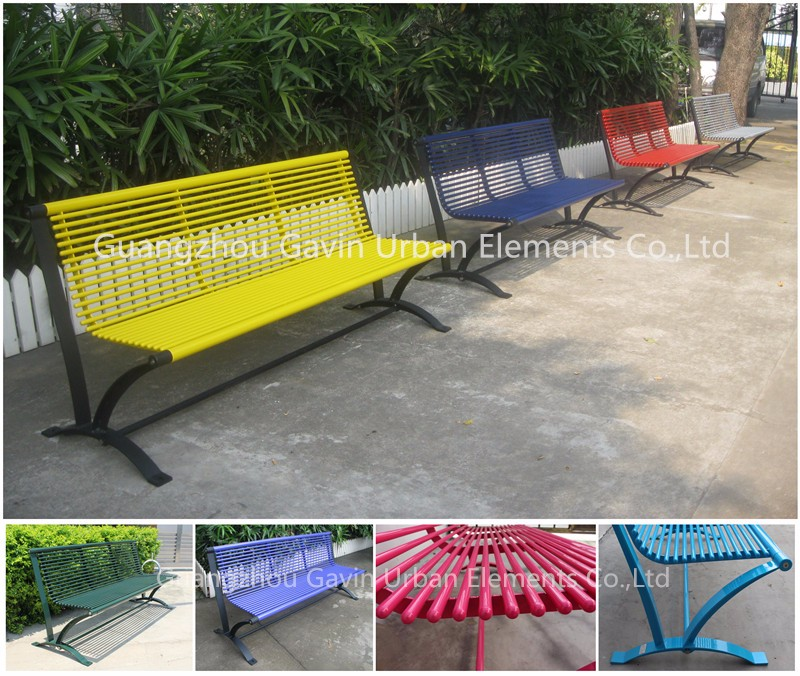 hotsale antirust durable used metal park benches for sale