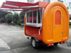 mobile catering trucks ice cream machine food cart fabrica de trailer de lanches electric mobile fast food van