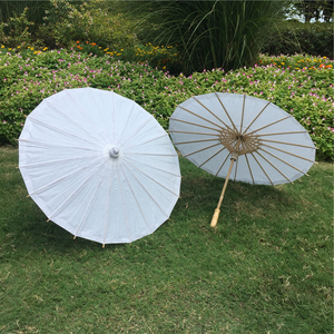 PoeticExst wedding gifts Chinese craft white paper children parasols