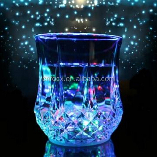 Good design Water Sensor Flashing cup / Bar Club led cup / led drinking beer cup