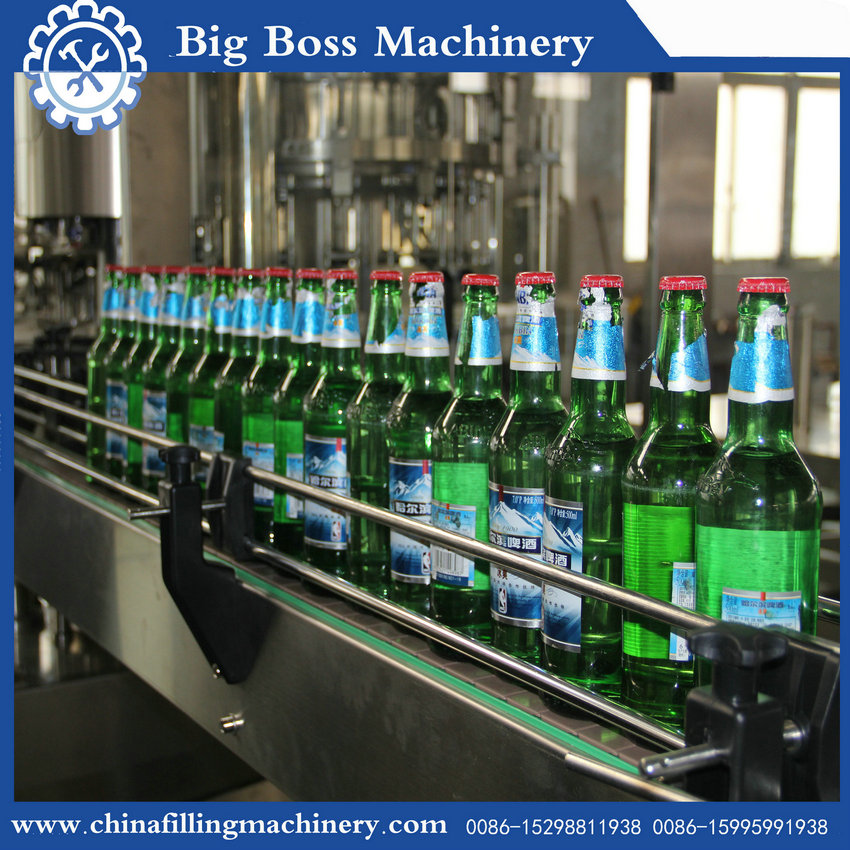 DW----226 3 in 1 beer keg filling equipment/beer bottling machine/line
