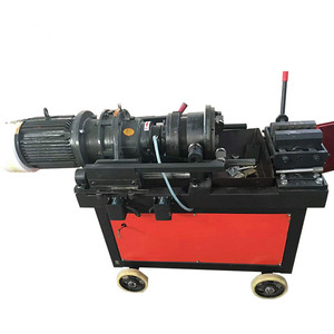 Spoke thread rolling machine/thread rolling machine for nails