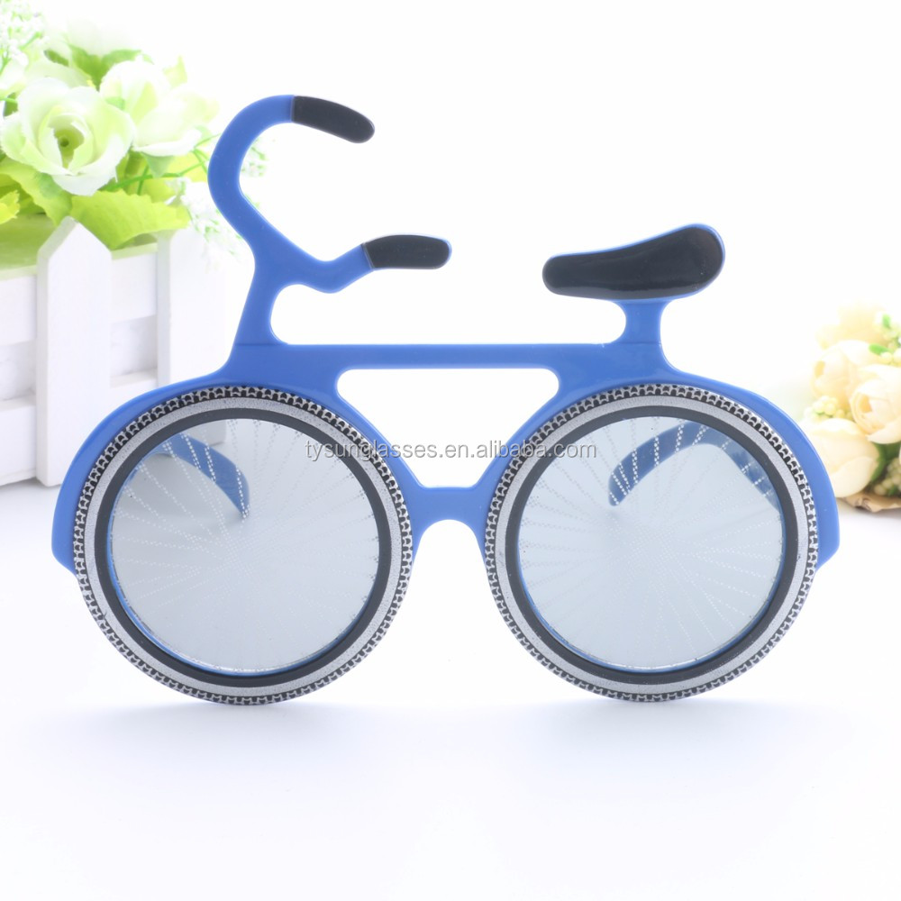 Bicycle Novelty Bicycle Sunglasses Party Props Costume Favors Events Festive Party Supplies Decoration Funny Cosplay glasses