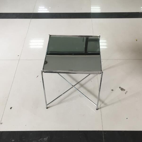 2017 Heißer Verkauf Neue Design Moderne Einfache Quadratische Spiegel Tisch