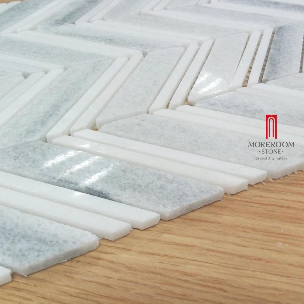 Mosaïque de marbre carreaux de marbre carrelage pour modèles de ...