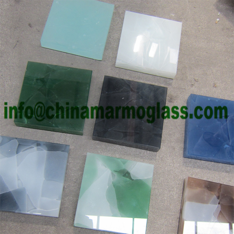 Backlit Style New Nano Glass, Translucent Artificial Nsno Glass Crystallized Stone Onyx White and Veins Surface Tabletops