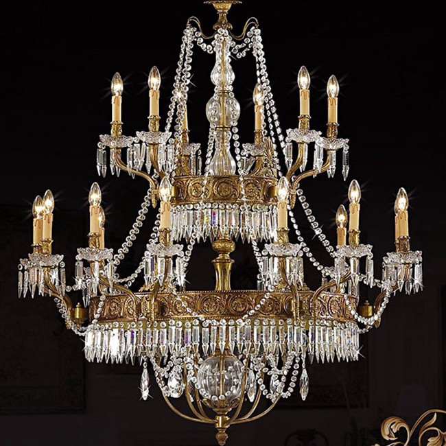 Big modern hand blown glass large hotel loddy luxury crystal chandeliers