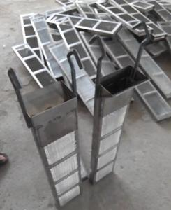 Gr2 titanium anode baskets / titanium mesh price for electroplating