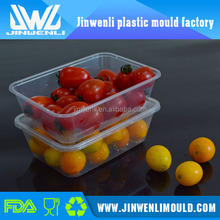 PET/PP disposable clear/transparent sandwich/cake plastic food container/box/packaging