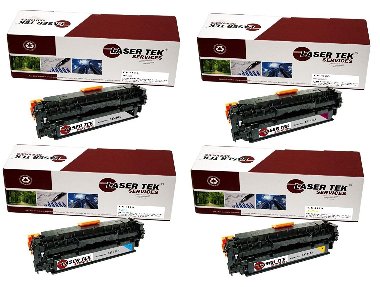 4PK HP 305A CE410A CE411A CE412A CE413A Toner Set for HP LaserJet M351 M375 M475