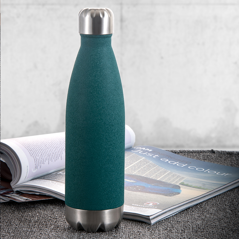 Premium quality cola flask water bottle double wall 500ml stainless steel insulated water bottle