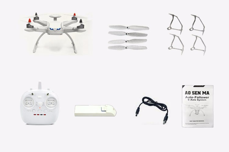3dr solo RC Hobby Toy 6-Axis Gyro Brushless RC Quadcopter Gps Tracking System RTF 2.4GHz Camera Drone