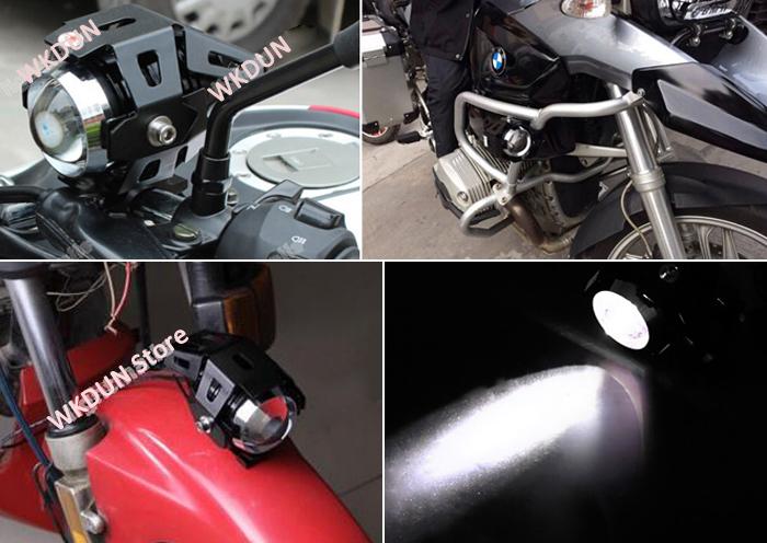 Moto Transformers Shape 3000 Lumen Cree XM L U5 Black Shell LED Motorcycle  Head