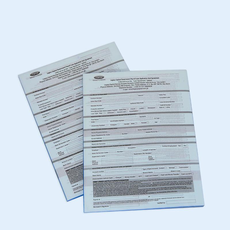 Invoice Duplicate Triplicate Carbon Paper Receipt Books UK Post Card Receipt