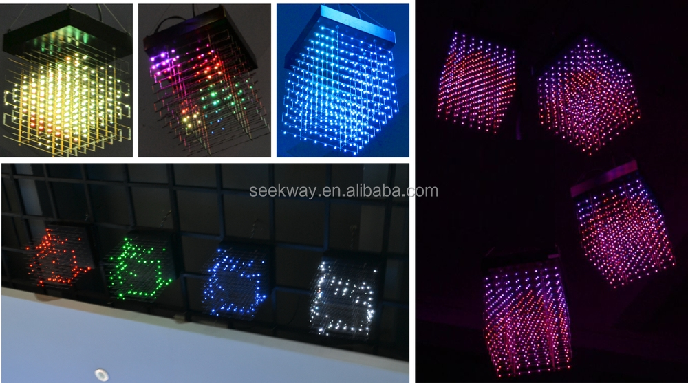 Seekway Rgb Led Display Indoor With Ethernet Controller