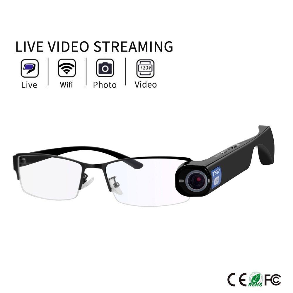 Online Live Stream Camera Glasses 8GB