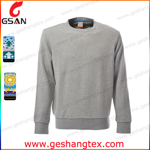 Over size plain mens long sleeve tshirt