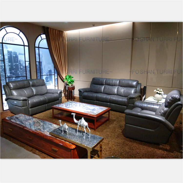 Small Size Grey Leather Functional Sofa Set Buy Leather Sofa Sets Small Size Sofa Functional Sofa Product On Alibaba Com
