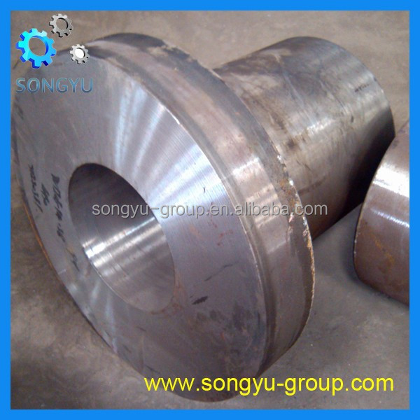 forged CNC machining alloy steel 20CrNiMoA flanged joint valve bodies