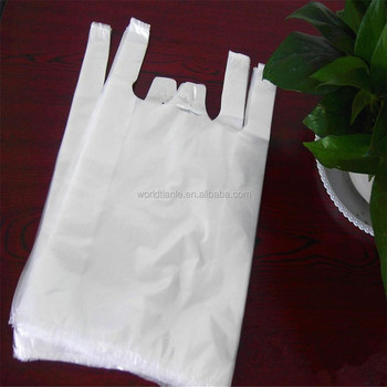 Wholesale Cheap Biodegradable Customized T Shirt Plastic