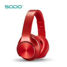 SODO New Product China Wholesale Factory Cheap Mp3 Bulk Oem Bluetooth Wireless Headphone With Memory Card