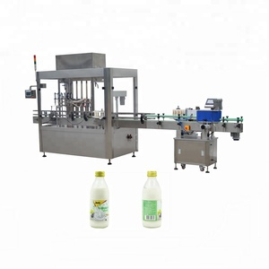YB-YG6 30-1000ml Factory Automatic beverage/pure water/milk filling and capping machine