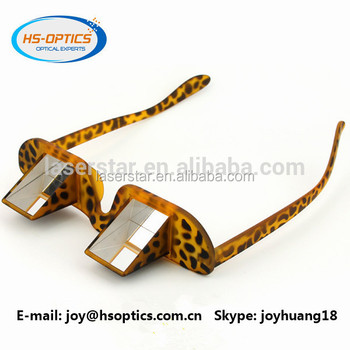 9c2bfb0d13c82e Regarder vers le bas horizontale léopard assurage lunettes pour la lecture