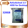 Best price hard drive 320gb SATA 3.5'' used hard disk drives whole sale for desktop
