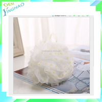 YH-LS006-07-3 Hot Selling High Quality Mesh Bath Sponge/ Exfoliation Body Puffs / Bath Scrubbers