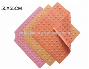 OEM different style natural rubber non slip bath tub mat